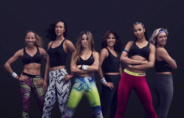 Nike NTC Tabata athletes