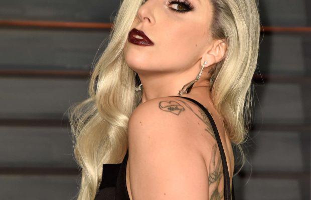 Lady Gaga, Vanity Fair Oscar party, 2015
