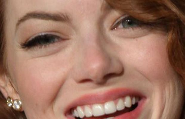 Emma Stone, Vanity Fair Oscar party, 2015
