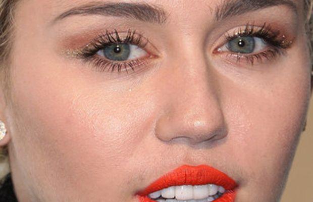 Miley Cyrus, Vanity Fair Oscar party, 2015