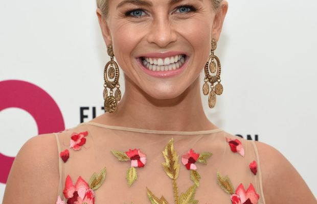 Julianne Hough, Elton John AIDS Foundation Academy Awards viewing party, 2015
