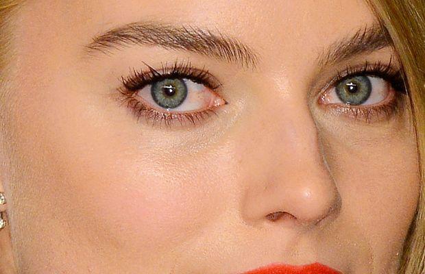 Margot Robbie, Vanity Fair Oscar party, 2015