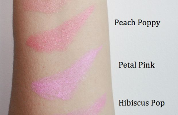 Maybelline Rebel Bloom Lipstick swatches