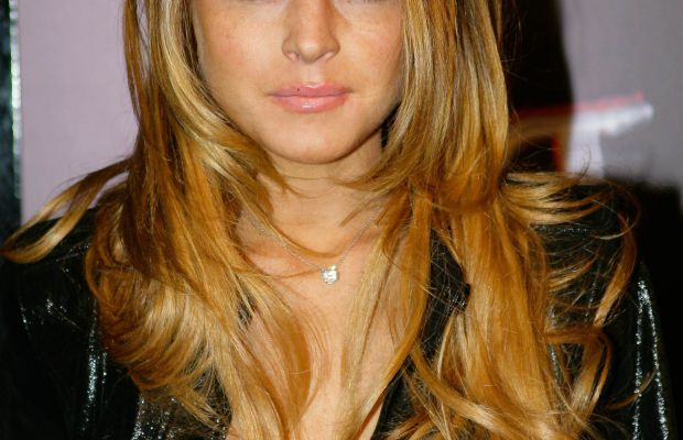 Lindsay Lohan, ESPN Super Bowl party, 2009