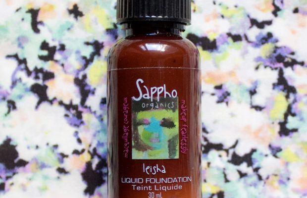 Sappho Organics Liquid Foundation in Leisha