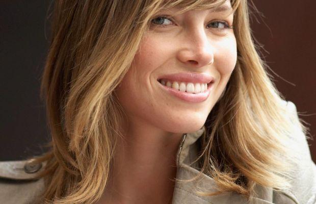 Jessica Biel shag haircut