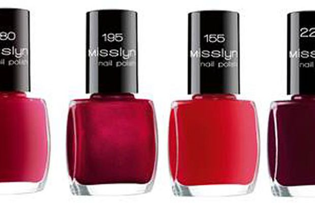 Misslyn Nail Polish reds