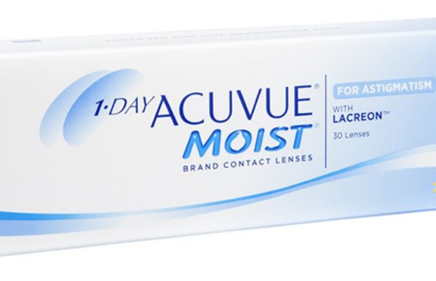 1 Day Acuvue Moist for Astigmatism Contact Lenses.