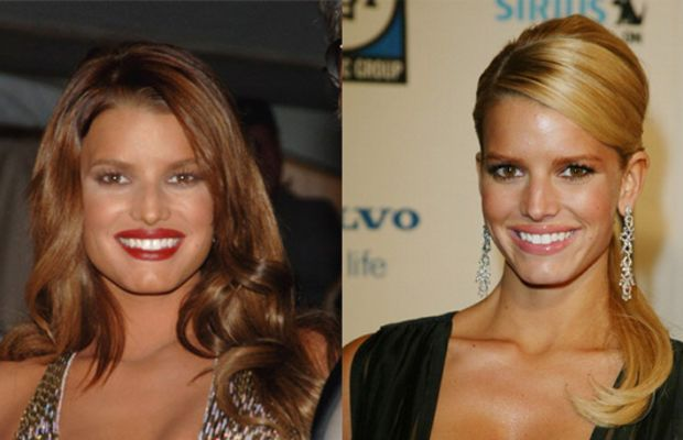 Jessica-Simpson-brunette-and-blonde-hair
