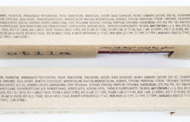 Stila Stay All Day Vinyl Lip Gloss (ingredients)