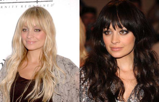 Nicole-Richie-blonde-and-brunette-hair