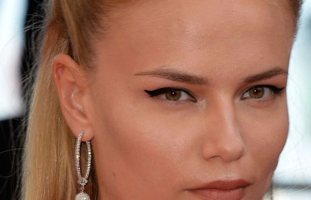 Natasha Poly, A Fistful of Dollars screening, Cannes 2014