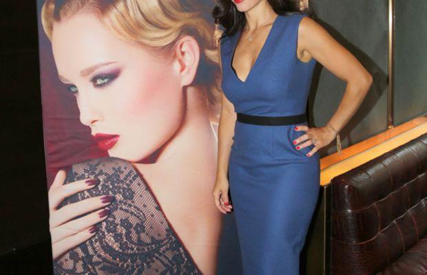 Gina Brooke - Make Up For Ever event Toronto 2012