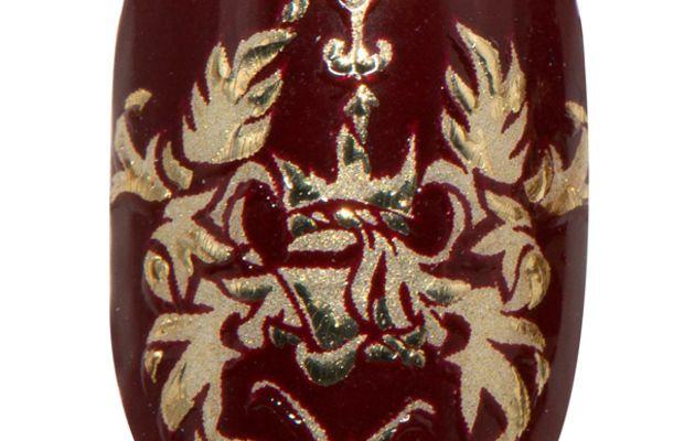 Revlon by Marchesa 3D Jewel Appliques in Royal Burgundy