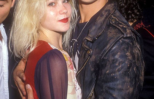 Christina Applegate and Brad Pitt, 1988