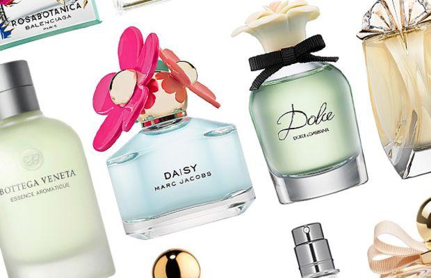 Best spring fragrances 2014