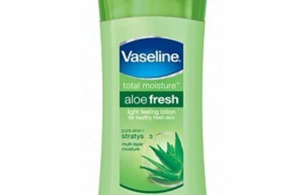 Vaseline Aloe Fresh Total Moisture Lotion