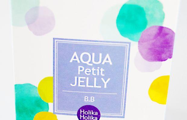 Holika Holika Aqua Petit Jelly BB Cream (packaging)