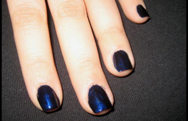 Glitter Ombre mani - step 1
