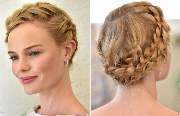 Kate Bosworth braided updo, Style Thief launch, 2014 (3)