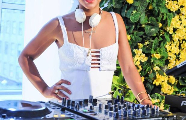 Clinique Dramatically Different party - DJ Hannah Bronfman