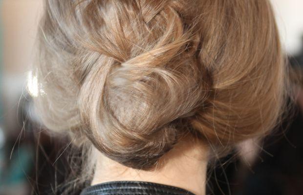 Delpozo - Fall 2013 hair