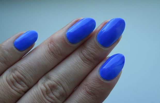 OPI Neon Revolution Blue it Out of Proportion
