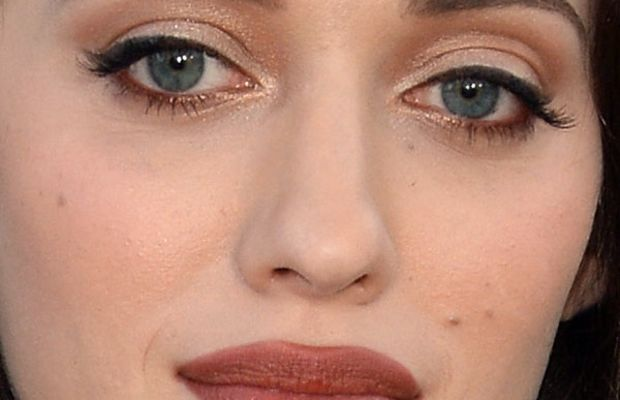 Kat Dennings - CW, CBS and Showtime 2013 Summer TCA Party, LA (July 29) - close-up