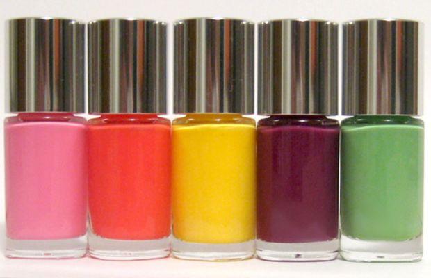 Clinique Sensitive Nail Polish - summer 2013 collection
