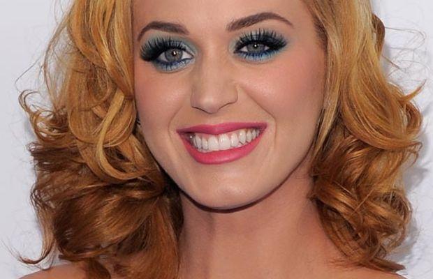 Katy Perry brassy hair