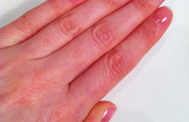 Nails after Dior Nail Glow