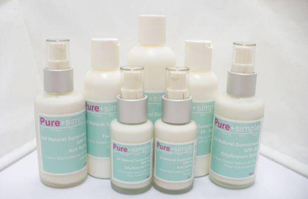 Pure-+-Simple-sunscreen-line
