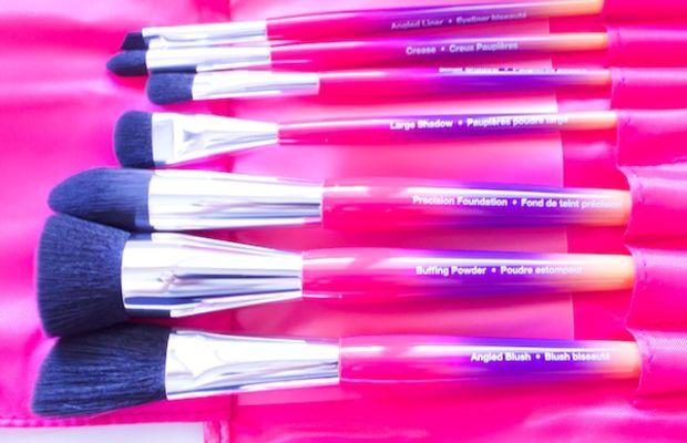 Sephora Collection Hamptons Travel Clutch Brush Set (brushes)