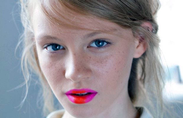 Holly Fulton - Spring 2013 makeup