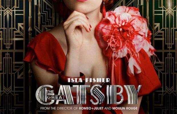 Isla Fisher - Great Gatsby movie poster