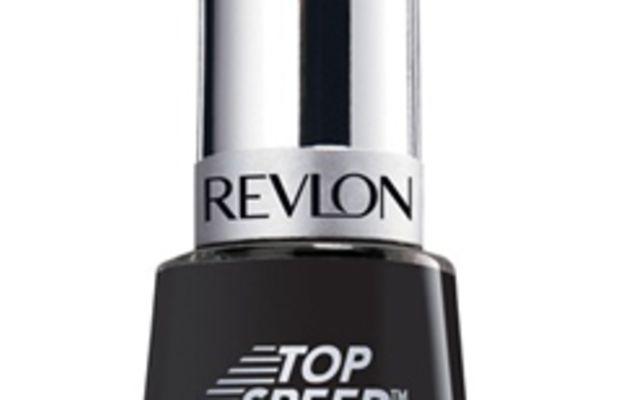 Revlon Top Speed Nail Enamel in Black Magic