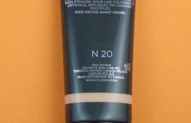 Cover FX Natural Finish Oil-Free Foundation (5)