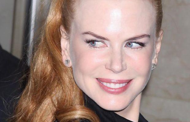 Nicole Kidman high ponytail