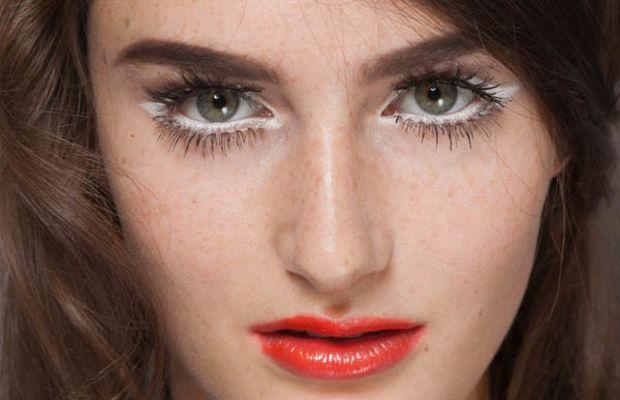 Moschino - Spring 2013 makeup
