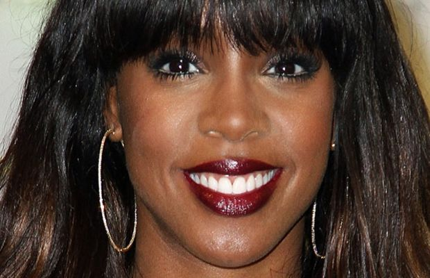 Kelly Rowland long face bangs