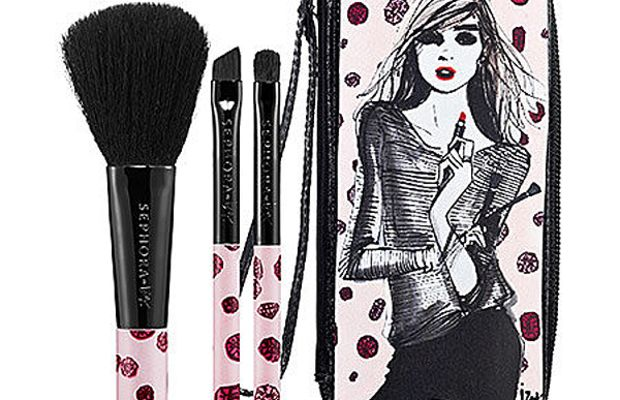 Sephora Collection Au Revoir Izak Mini Brush Set