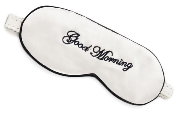 Mary Green Good Morning Good Night Sleep Mask