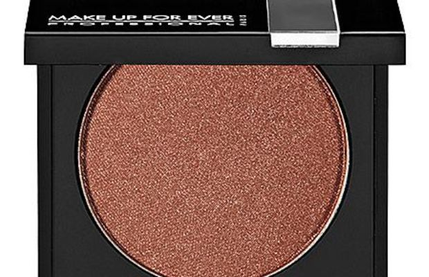 Make Up For Ever Eyeshadow in Metallic Copper