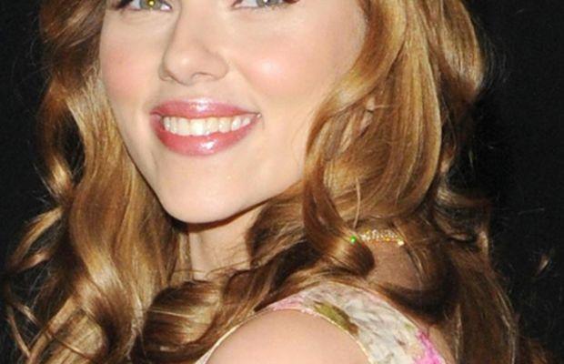 Scarlett Johansson Spirit Party 2008