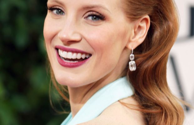 Jessica Chastain - Golden Globe Awards 2013
