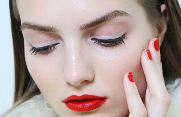 Antonio Berardi - Fall 2013 makeup
