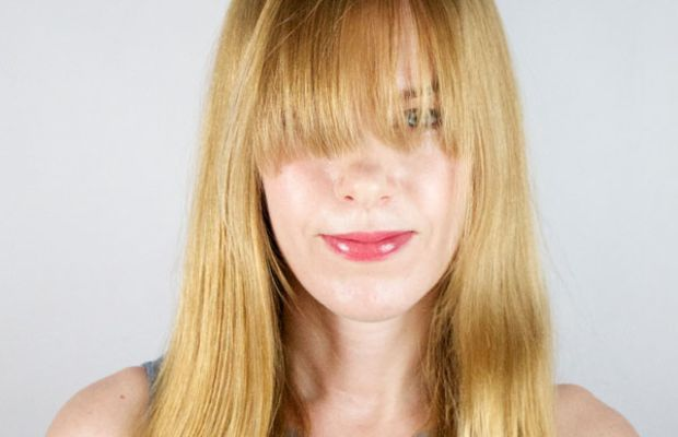 How to style long bangs (1)