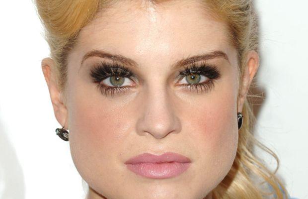Kelly Osbourne pear face bangs