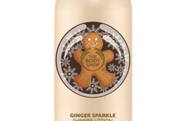 The Body Shop Ginger Sparkle Shimmer Lotion