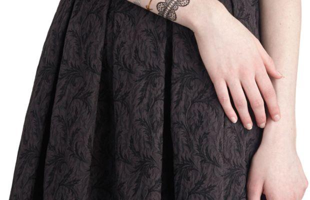 Lacy Fashion Tattoos